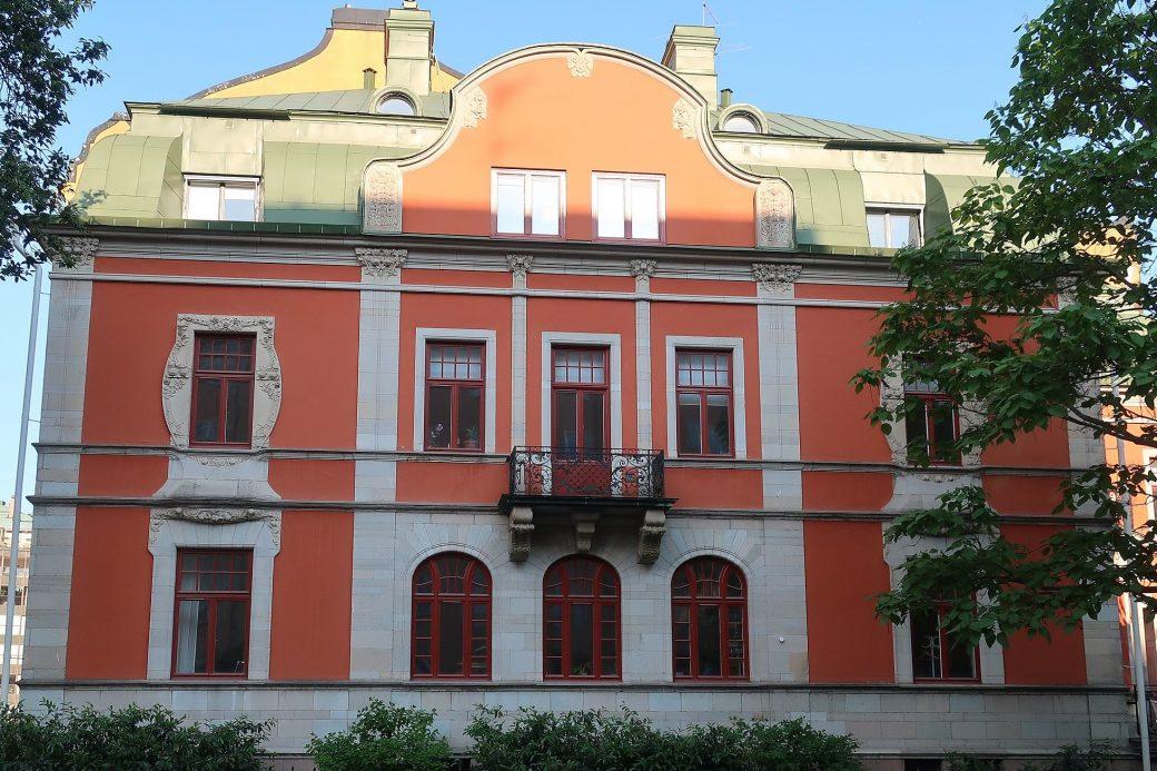 Fastigheten Linden 9 på Östermalm i Stockholm